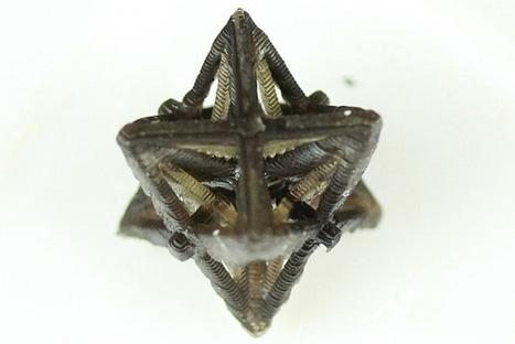 3D printed metamaterial shrinks when heated • Materia | ZenStorming - Design Raining Innovation | Scoop.it