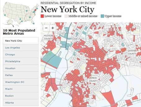 Rise of Residential Segregation by Income | Social and economic justice | Scoop.it