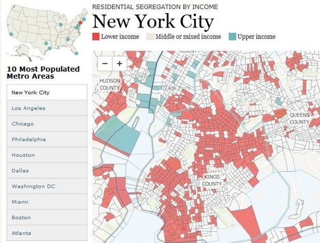 Rise of Residential Segregation by Income | Developing Spatial Literacy | Scoop.it
