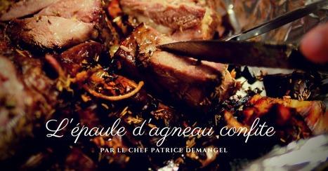 Epaule d'agneau confite dans son jus - Essor | Cuisine et cuisiniers | Scoop.it
