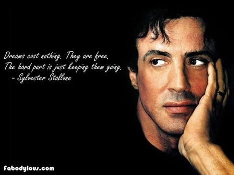 Quote from Sylvester Stallone | Professional Motivation | Scoop.it