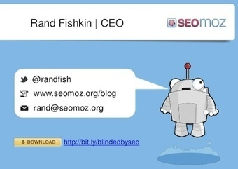 Rand Fishkin of SEOmoz recommends including presentations in content marketing and SEO strategy | Search Engine Marketing For Real Estate | Scoop.it