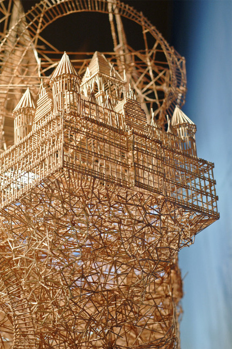 Astonishing Sculpture Made From Toothpicks Took 35 Years To Create | Creating new possibilities | Scoop.it