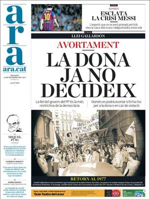 Hasta tres años de cárcel y seis de inhabilitación al médico que ayude a abortar en España   Socied@d Reticular   Scoop.it