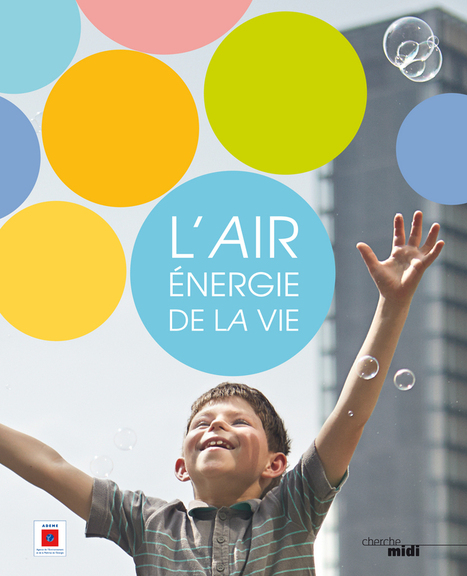 "Livre : ""L'Air, énergie de la vie"" ouvrage collectif du journaliste Loïc Chauveau,  et Joëlle Colosio (ADEME) 
