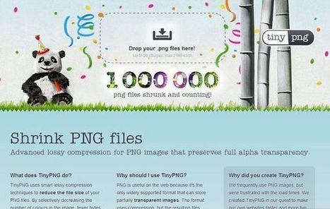 TinyPNG, comprime imágenes en formato PNG sin perder ni un ápice de calidad | Personal y hobbies | Scoop.it