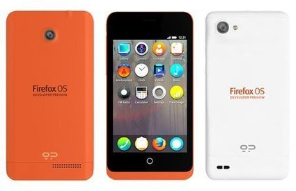 Mozilla Unveils Firefox OS Developer Preview Phones   Embedded Systems News   Scoop.it