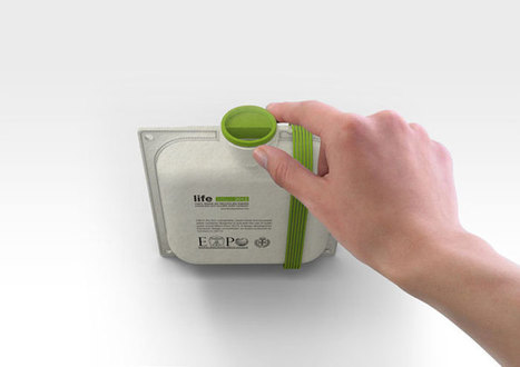 MILANO EXPO 2015: Life / Paper-made WaterContainer - The Dieline - | Eco Branding | Scoop.it