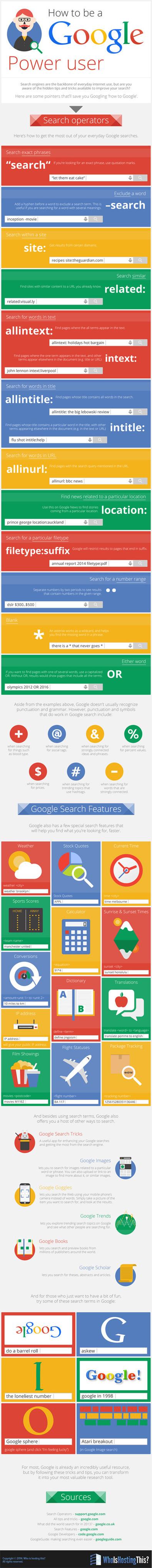 Google: Cómo ser más eficaz en tus búsquedas en Google | Desarrollo de Apps, Softwares & Gadgets: | Scoop.it