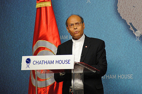 "Fortune 500 Awards Tunisian President ""Chatham House Prize"" 