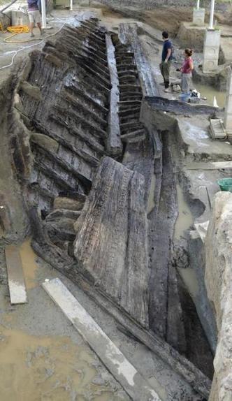Descubierta cerca de Ferrara (Italia) una nave romana del siglo V | Mundo Clásico | Scoop.it