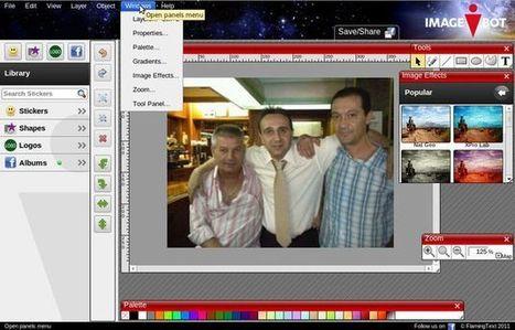 ImageBot, excelente editor de imágenes online y gratuito   #REDXXI   Scoop.it