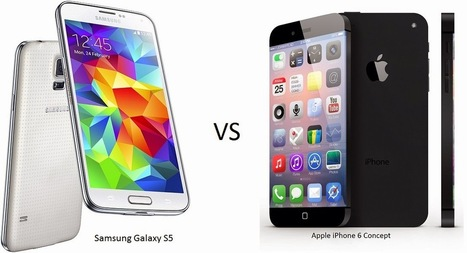 E_cell Mobile News: Samsung Galaxy S5 VS Apple iPhone 6: Smartphones battle it out | Worth a Share | Scoop.it