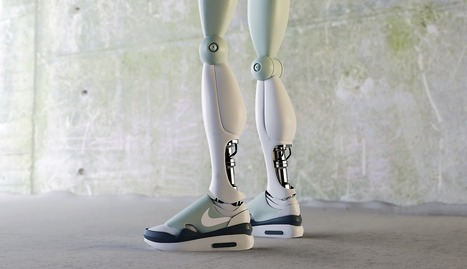 These Futuristic Sneaker Renderings Give the Nike Mag a Run for Its Money | #Design | Scoop.it