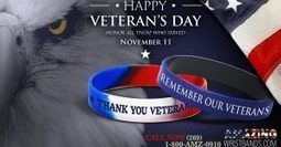 Support Veterans Day | Craze On Wristbands | Scoop.it