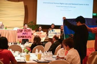 Singapore activists protest anti-gay speaker at EU human rights seminar - Gay Star News | LGBT Singapore | Scoop.it