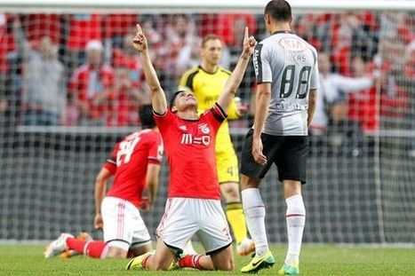 ABOLA.PT - «O alívio foi enorme» - Enzo Pérez   Benfica   Scoop.it