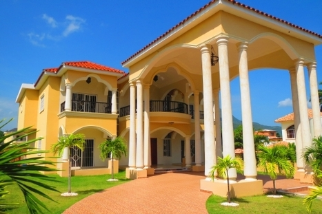 V-153 Impressive two storey residence in Puerto Plata Dominican Republic Real Estate Properties - Luxury Caribbean Villas and Beachfront Properties | Dominican Republic Real Estate | Scoop.it