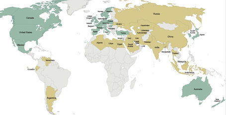 Global Energy Subsidies Map -- National Geographic | Infraestructura Sostenible | Scoop.it