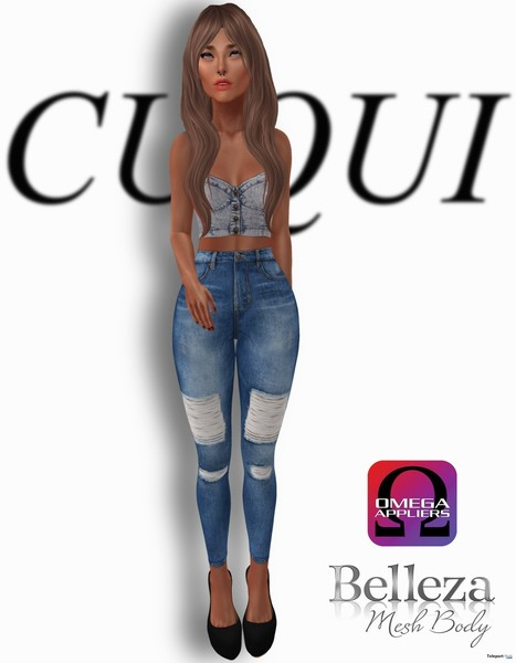 Jeans Outfit Group Gift by CUQUI | Teleport Hub - Second Life Freebies | Second Life Freebies | Scoop.it