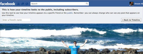 How To View Your Facebook Profile as Public | Sizzlin' News | Scoop.it