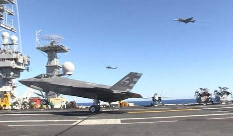 Video: F-35C successfully completes first arrested landing on aircraft carrier | Military Aviation & Technology | Scoop.it