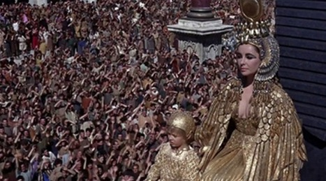 27 février : Anniversaire de la naissance de Liz Taylor, inoubliable Cléopâtre | Égypt-actus | Scoop.it