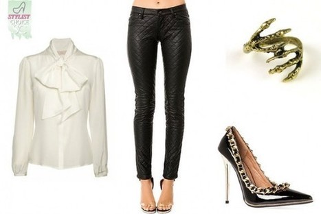 StyleCard Stylist: The Quilted Faux Leather Pants | StyleCard Fashion Portal | StyleCard Fashion | Scoop.it