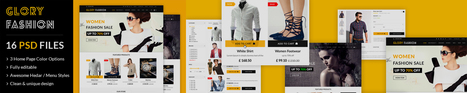 7 Reasons Why You Should Invest in Glory Fashion eCommerce PSD Template | Wed Design | Scoop.it
