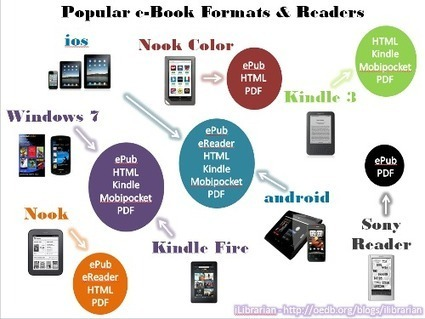 iLibrarian » e-Book Formats and Devices Infographic | School Library | Scoop.it