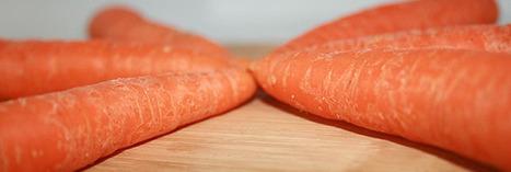 Les grands aliments : éloge de la carotte | Manger autrement - Faire les courses | Scoop.it