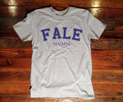 Fale Alumni T-Shirt Gray Harvard Funny Yale Princeton University tee shirt 030   Mindfulwear Collection   Scoop.it
