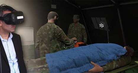 La réalité virtuelle va former les urgentistes au stress d'un attentat   SeriousGame.be   Scoop.it
