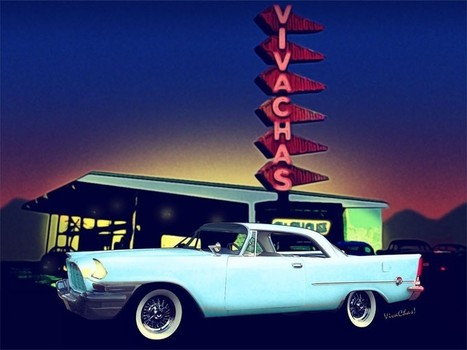 58 Chrysler 300 in Blue Dust at VivaChas | Hot Rodney Hot Rods | Scoop.it