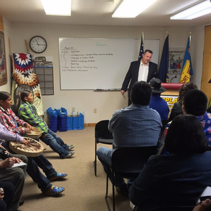 At Fort Peck, Tester announces Native language preservation bill | Jon Tester | U.S. Senator for Montana | The World of Indigenous Languages | Scoop.it