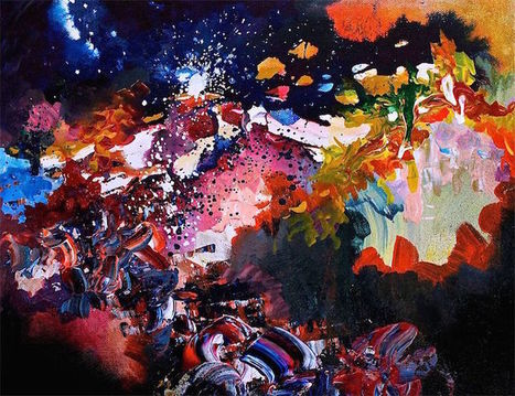 Artist with Synesthesia Paints Music as Gorgeous Splashes of Color | Le It e Amo ✪ | Scoop.it
