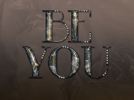 Learn how to create a metallic marble text effect in Photoshop   The Official Photoshop Roadmap Journal   Scoop.it