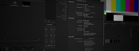 Optimizing playback in Resolve 10 | DaVinci Resolve | Scoop.it
