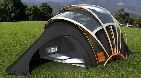 Tenda Solar Concept Orange | Digital Sustainability | Scoop.it