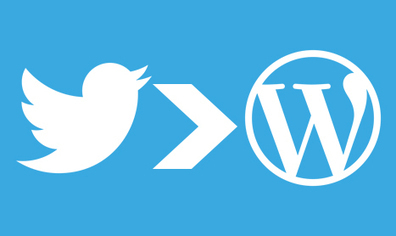Bien intégrer Twitter à son blog WordPress | Social Media | Scoop.it