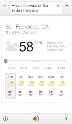 Google Search for iOS updated with Google Now-like voice recognition   Programación iphone   Scoop.it