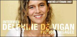 INTERVIEW DE DELPHINE DE VIGAN - Evene | No et moi (Delphine de Vigan) | Scoop.it