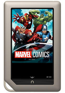 Marvel Graphic Novels Invade B&N's Nook Tablet - Comic Book Resources | Graphic Novels & Comic Makers | Scoop.it