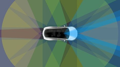 Watch a Tesla drive itself on local streets | Future Trends and Advances In Education and Technology | Scoop.it