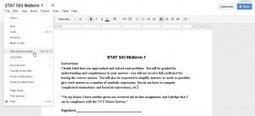 Google docs are a great teaching tool | Using Google Drive in the classroom | Scoop.it