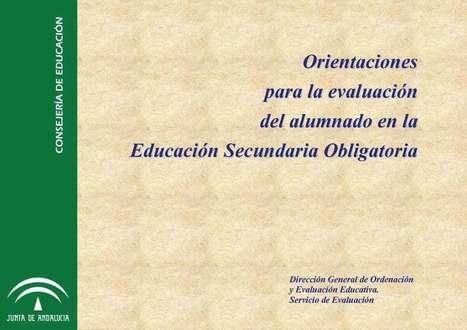 Orientaciones para la evaluación del alumnado | orientagades | Scoop.it
