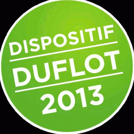 Loi Duflot : un dispositif rentable pour défiscaliser   Solution pour l'habitat   Réglementation   Scoop.it