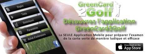 Mygolfexpert | Nouveauté Golf ! Application Mobile : GreenCard2Golf | Nouvelles du golf | Scoop.it