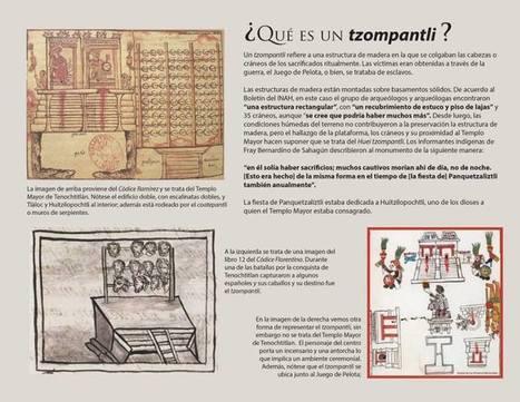 Descubren el gran Tzompantli de México-Tenochitlan   Arqueología, Historia Antigua y Medieval - Archeology, Ancient and Medieval History byTerrae Antiqvae (Blogs)   Scoop.it