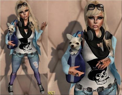★ Nici's Fashion Style ★: ...тнє ωσяℓ∂ ιѕ мιηє... (вαg/∂σg ƒяєє)   Nici's Fashion Style   Scoop.it